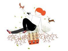 Upside down... Illustration by Laura  di  francesco