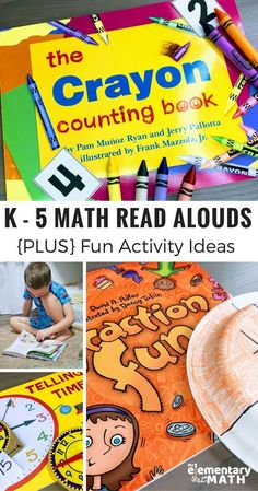 Searching for ways to get kids interested in a new math topic? Check out my favorite Top Math Read Alouds for elementary students. I listed them by math skills like fractions, time, addition and more. PLUS there is an easy to implement extension activity