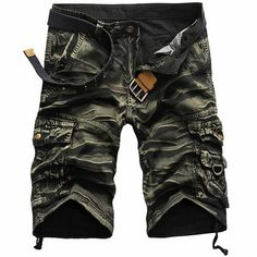 Cheap shorts cargo, Buy Quality work shorts directly from China short masculino Suppliers: Shorts men clothing short masculino Male Fashion Army Work Shorts Cargo Casual Camouflage Summer Brand Clothing Plus Size Army Shorts, Military Shorts, Work Shorts, Loose Shorts, Men Shorts, Shorts Casual, Workwear Shorts, Work Casual, Men Casual