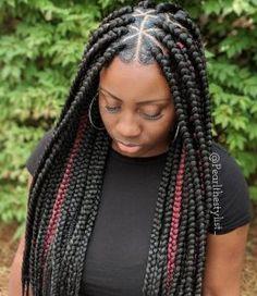 25 Breathtaking Burgundy Box Braids | New Natural Hairstyles Box Braid Hair, Blonde Box Braids, Short Box Braids, Black Girl Braids, Girls Braids, Curly Braided Hairstyles, Box Braids Hairstyles For Black Women, Natural Hairstyles, Twist Hairstyles