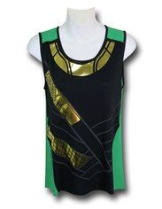 Loki Foil Costume Women's Tank Top