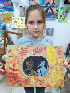Kids Art Class, Art Lessons For Kids, Art Lessons Elementary, Art For Kids, Kindergarten Art, Preschool Art, Christmas Handprint Crafts, Fall Art Projects, Ecole Art