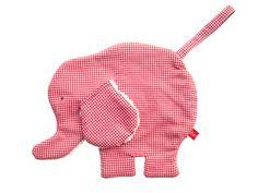 Schnuffeltuch, Schnullertuch »Elefant«