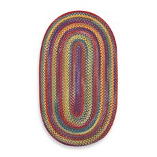 Capel Kill Devil Hill Oval Indoor Braided Rug - Multi Brights - Bed Bath & Beyond