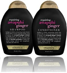 Organix Awapuhi ginger line!!!!  Keeps my coarse hair soft for days; love this product
