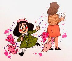 little-misfortune | Tumblr Anime Undertale, Undertale Cute, Spooky Games, Little Misfortune, Fantasy Witch, Miss Fortune, Alice Madness, Fandoms, Indie Games