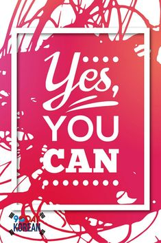 Yes, you can!  We believe in you ^^  #90daykorean #korean #koreanlanguage