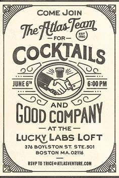 cocktail invite