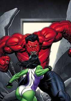 Frank Cho - she hulk marvel comics red frank cho ms HD Wallpaper