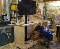 how to build a tv lift