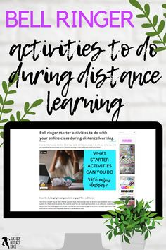 You're not alone if you've been finding yourself stuck not knowing what to do with your students while you're waiting for them to arrive online. You want to have fun yet meaningful activities to do with your students and ensure that they are engaged and excited to be there. If you've been struggling to think of suitable digital bell ringer activities for distance learning, keep reading for some ideas to help. ​#distancelearning #bellringers #onlinelessons Interactive Activities, Activities To Do, Online Classroom, Classroom Ideas, Teacher Resources, Teaching Ideas, Online Quizzes, Secondary Teacher, Bell Ringers