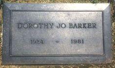 Dorothy Jo Gideon Barker - Wife of Game Show Host Bob Barker.