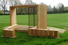 Teens on the Playground: Youth Shelters by Superblue - Playscapes
