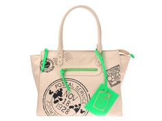 Mickey Mouse Vintage Style Print Tote Bag Ivory Disney Store JAPAN-01