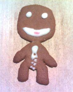 gingerbread sackboy  Little Big Planet