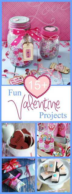 15+ Fun Valentine Projects To Make at sewlicioushomedecor.com