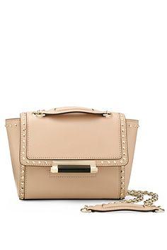 440 Mini Studded Leather Crossbody Bag In Vachetta