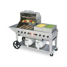Check out the Crown Verity CCB-60 Club Grill in Liquid Propane Only