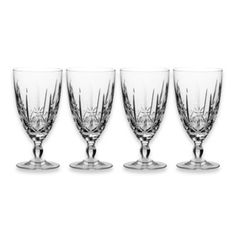 Marquis® by Waterford Sparkle 10-Ounce Iced Beverage Glasses (Set of 4) - BedBathandBeyond.com