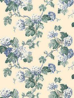 DecoratorsBest - Detail1 - Sch 5004372 - Viburnum - Periwinkle - Wallpaper - DecoratorsBest