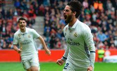 Jogo da Liga logo mais: Real escala Isco no lugar de Bale; Bayern tem volta de Lewa