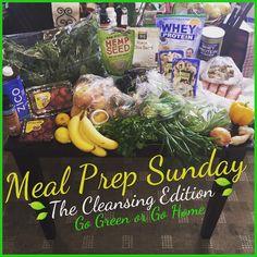Meal Prep Sunday: Green Edition #gogreen #gogreenorgohome #getcleansed #rightintimeformyHomecoming #luschooldazehc #2015mealsbycharisma #mealprep #mealprepsunday by beinspiredtoinspire