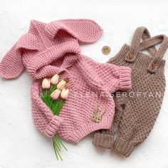 Hand knit baby romper Knitted baby clothes Baby coveralls Overalls jumpsuit wool Knitted baby wool coming home outfit Knit jumpsuit Kids Knitting Patterns, Knitting For Kids, Baby Patterns, Hand Knitting, Crochet Patterns, Baby Pullover, Baby Cardigan, Knitted Baby Clothes, Cute Baby Clothes