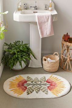 Shop Idalie Floral Bath Mat at Urban Outfitters today. Bathroom Mat Sets, Bathroom Rugs And Mats, Bath Rugs, Small Bathroom, Bathroom Ideas, Bathroom Bath, Bathrooms, Bathroom Inspo, Budget Bathroom