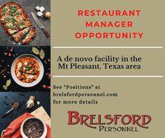 Tyler Tx, Job Posting, Resume, Opportunity, Texas, Management, Positivity, Restaurant, Life