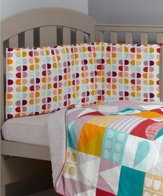 Patternology (Geometric) - Bumper - Patternology - Mamas & Papas  #mamasandpapas #dreamnursery