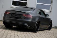 Audi S5 in Matte Black