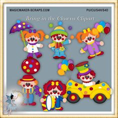 Bring in the Clowns Clipart