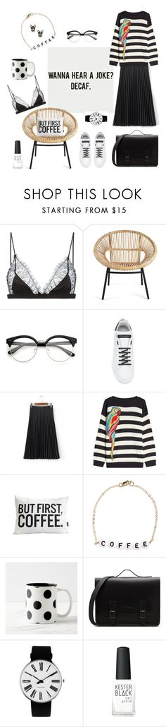 """But first..."" by ellasophialove ❤ liked on Polyvore featuring Maison Close, Dolce&Gabbana, WithChic, Marc Jacobs, Ryan Porter, Rosendahl, Kester Black and Kate Spade"