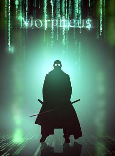 Morpheus.   #matrix, Neo, Morpheus, Trinity