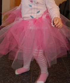 Tutu stinkin cute! Another project to make for the granddaughters!