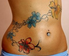 Tattoos For Girls Hip But | Hip tattoos are a popular tattoo among many women. The placement is ...