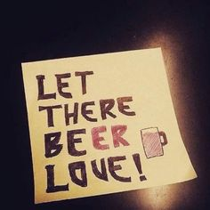 Let there be love! And more importantly LET THERE BEER LOVE! If you love beer you do not want to miss Beer Bacon Music Festival! #beerbaconmusic  #beerbaconmusicfestival  #beerlovers  #beer  #beerfestival  #bacon  #music