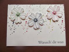Stampin up Sets : Flower Shop, Gorgeous Grunge, Kleiner Wort-Schatz,