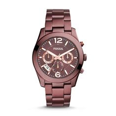 Fossil Perfect Boyfriend - Women Wrist Watch on YOOX. The best online selection of Wrist Watches Fossil. Bordeaux, Stainless Steel Jewelry, Stainless Steel Watch, Fossil Boyfriend, Messenger Bag Backpack, Fossil Jewelry, Jewelry Watches, Perfect Boyfriend, Fossil Watches