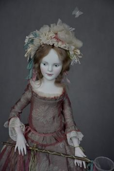 Scary Dolls, Old Dolls, Little Darlings, Doll Clothes, Shabby Chic, Barbie, Inspiration, Frou Frou, Dresses