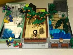 Lego Projects, Projects To Try, Lego Zoo, Lego Mansion, Lego Animals, Lego Boards, Lego Modular, Lego Design, Pearler Beads