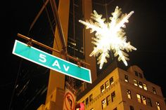 NYC - UNICEF Snowflake by wallyg, via Flickr