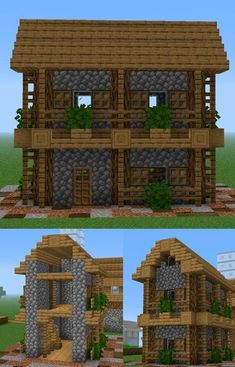 People love Minecraft due to a few straightforward items, possession, replayability and capability of use. Plans Minecraft, Minecraft Building Guide, Minecraft Farm, Easy Minecraft Houses, Minecraft Houses Survival, Amazing Minecraft, Minecraft House Designs, Minecraft Houses Blueprints, Minecraft Tutorial