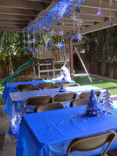 Birthday Parties: Frozen Birthday party