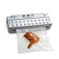 Fresh World Vacuum Sealer with Starter Kit for Food, Paperwork, Wine, Jewelry, Clothing, etc * More info could be found at the image url.
