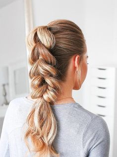 The Best Braided Hairstyles for 2019 Sporty Hairstyles, Ponytail Hairstyles, Wedding Hairstyles, Volleyball Hairstyles, Kid Hairstyles, Updo Hairstyle, Hairdos, Pretty Braided Hairstyles, Braided Ponytail