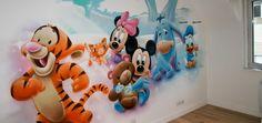 Décoration Disney pour une chambre d'enfant