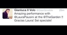 Our boys triumph once more..this time at Madison Square Garden, NYC ⭐️IL VOLO⭐️