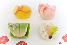 Japanese confectionery for the new year