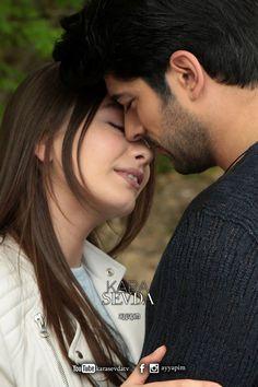 Hot Actors, Actors & Actresses, Fantasy Love, Romantic Photography, Turkish Actors, Beautiful Couple, Beautiful Eyes, Romantic Couples, Black Love
